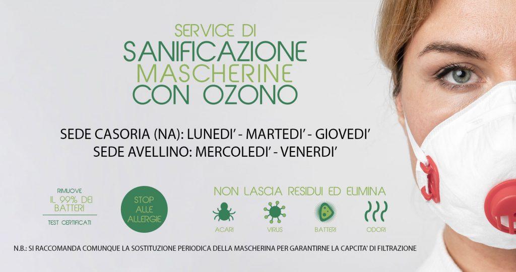 sanificazione mascherine ozono