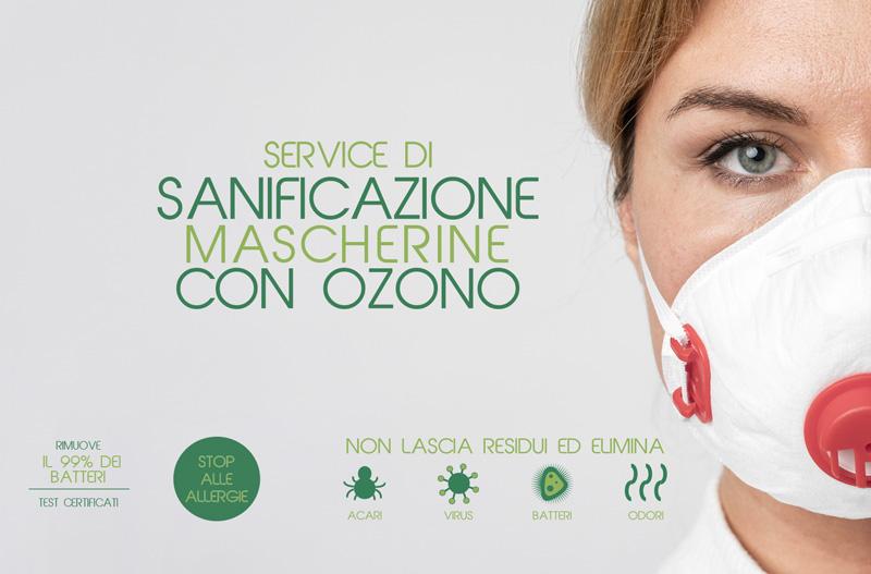 sanificazione mascherine con ozono